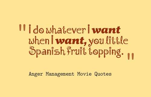 Funny Anger Quotes: 20 Best Anger Management Movie Quotes Goosfraba